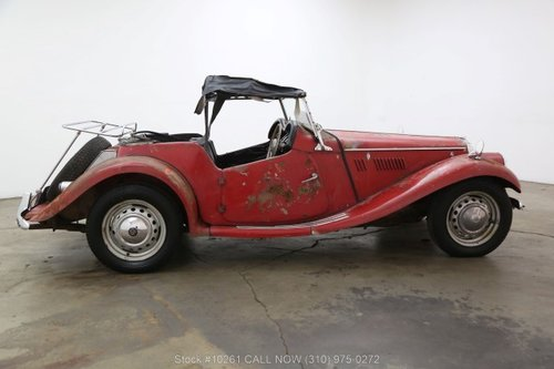 1954 MG TF Right Hand Drive For Sale (picture 2 of 6)