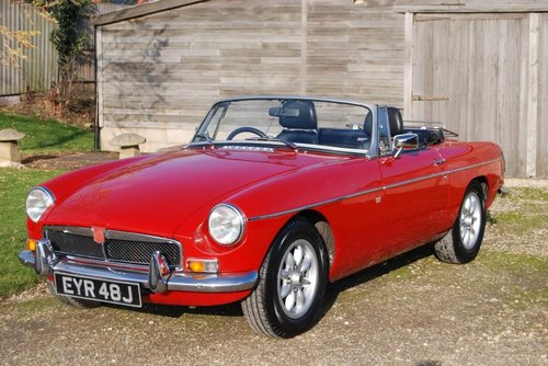 1971 MGB Roadster, Heritage Shell, Fast road/rally Spec SOLD (picture 1 of 6)