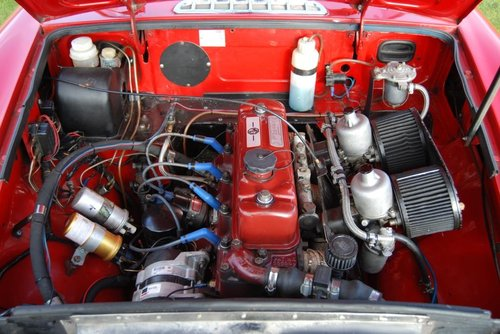 1971 MGB Roadster, Heritage Shell, Fast road/rally Spec SOLD (picture 3 of 6)