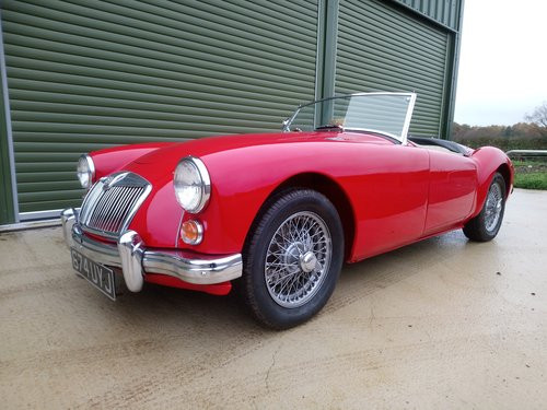 1959 MGA 1600, Fitted 1840 cc Fast Road Engine For Sale (picture 1 of 6)