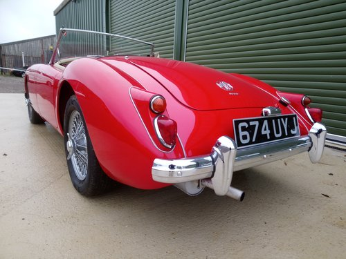 1959 MGA 1600, Fitted 1840 cc Fast Road Engine For Sale (picture 3 of 6)