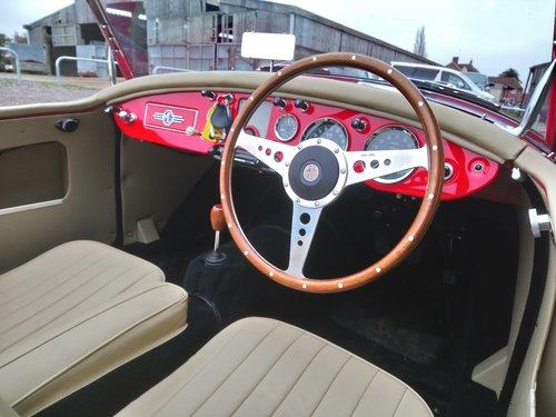 1959 MGA 1600, Fitted 1840 cc Fast Road Engine For Sale (picture 5 of 6)