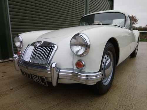 1957 MGA 1500 Coupe SOLD (picture 1 of 6)
