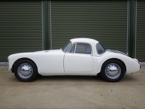 1957 MGA 1500 Coupe SOLD (picture 2 of 6)
