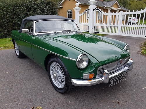 1964 MGB Roadster, Heritage Shell Restoration, Beautiful For Sale (picture 1 of 6)