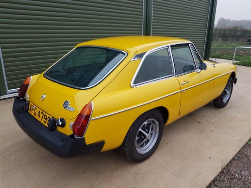 1978 MGB GT 1.8 SOLD (picture 2 of 6)