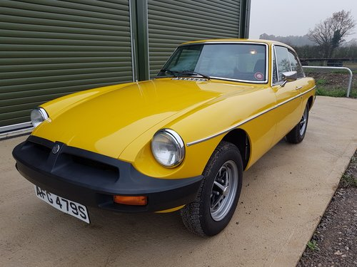 1978 MGB GT 1.8 SOLD (picture 4 of 6)