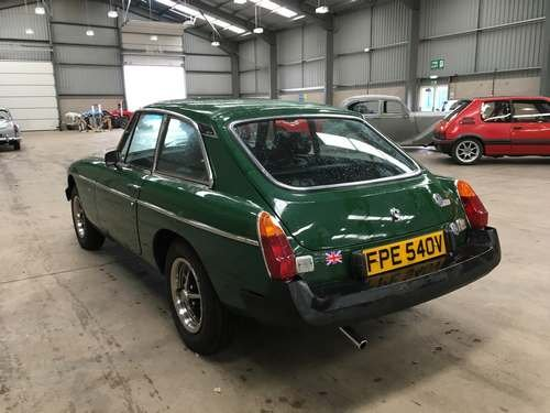 1980 MG B GT at Morris Leslie Auction 23rd February  SOLD by Auction (picture 2 of 6)
