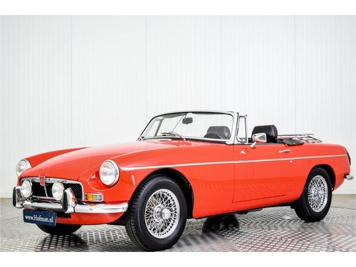1973 MG B MGB 1950cc Overdrive Heritage body For Sale (picture 1 of 6)