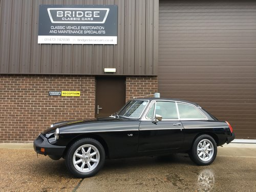 1976 MG B GT V8 SOLD (picture 1 of 6)