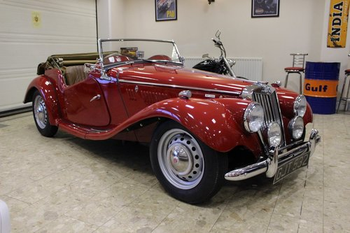 1954 MG TF 1500 - Full Restoration just completed SOLD (picture 1 of 6)