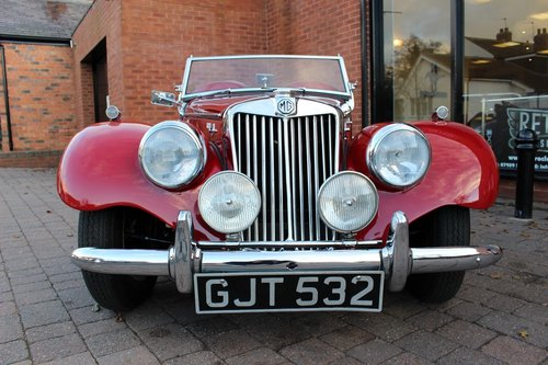 1954 MG TF 1500 - Full Restoration just completed SOLD (picture 3 of 6)
