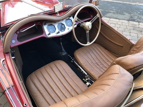1954 MG TF 1500 - Full Restoration just completed SOLD (picture 5 of 6)