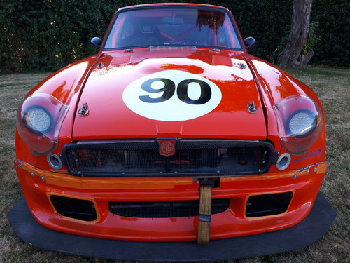1973 MGB GT V8 5.3L Race Car For Sale (picture 6 of 6)