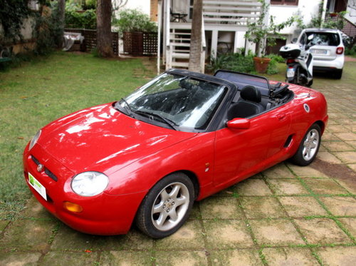 MG MGF 'CONVERTIBLE' 1.8I CAT (1998) HARD TOP INCLUDED For Sale (picture 1 of 6)