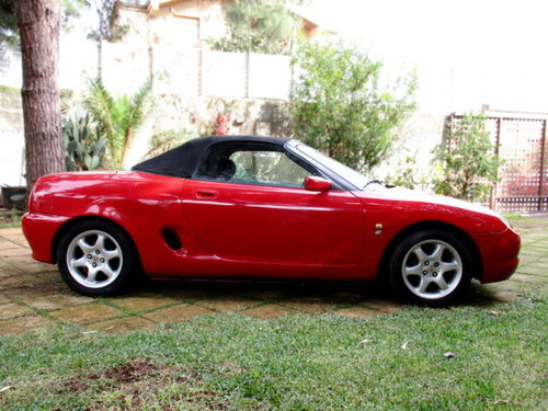 MG MGF 'CONVERTIBLE' 1.8I CAT (1998) HARD TOP INCLUDED For Sale (picture 3 of 6)