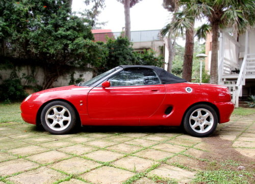 MG MGF 'CONVERTIBLE' 1.8I CAT (1998) HARD TOP INCLUDED For Sale (picture 4 of 6)