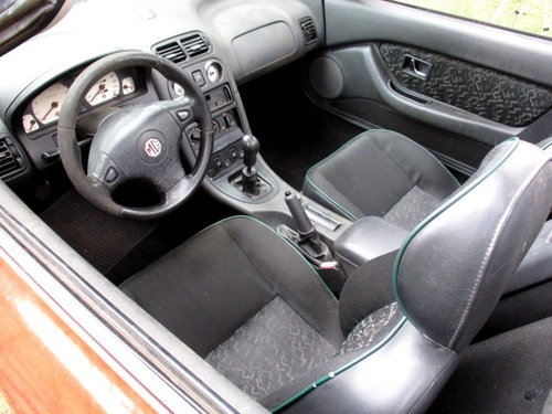 MG MGF 'CONVERTIBLE' 1.8I CAT (1998) HARD TOP INCLUDED For Sale (picture 5 of 6)