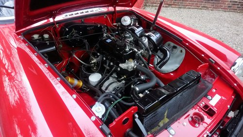 MGB Roadster 1977 Flamenco Red 66,900 miles Complete Rebuild For Sale (picture 2 of 6)