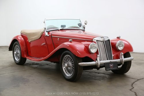 1955 MG TF Right Hand Drive For Sale (picture 1 of 6)