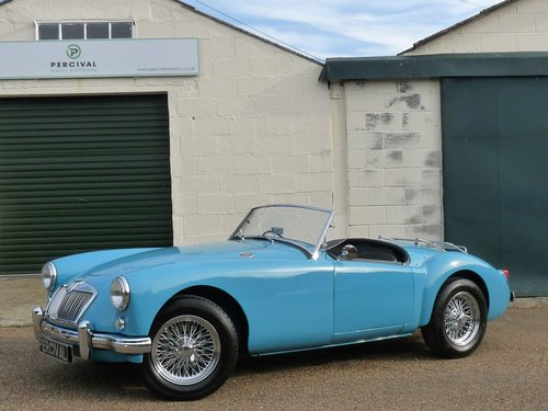 1956 MGA Roadster Mk1, MGB engine and  5 speed gearbox, SOLD SOLD (picture 1 of 6)
