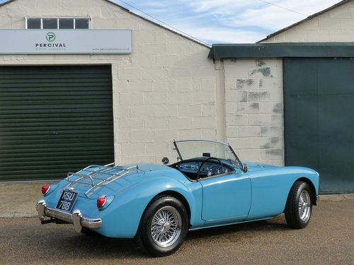 1956 MGA Roadster Mk1, MGB engine and  5 speed gearbox, SOLD SOLD (picture 2 of 6)