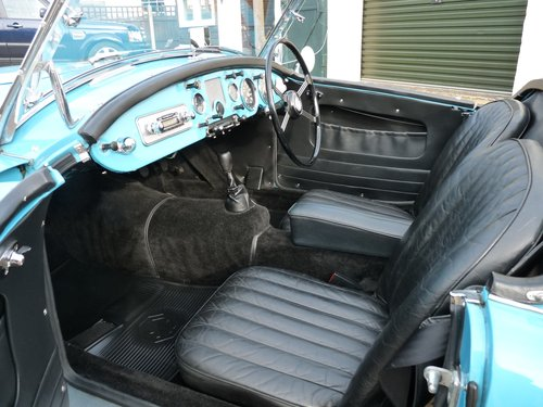 1956 MGA Roadster Mk1, MGB engine and  5 speed gearbox, SOLD SOLD (picture 3 of 6)