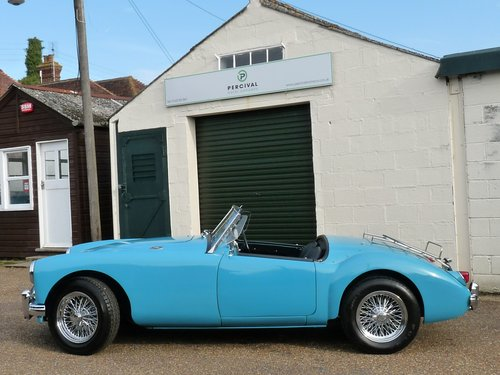 1956 MGA Roadster Mk1, MGB engine and  5 speed gearbox, SOLD SOLD (picture 5 of 6)