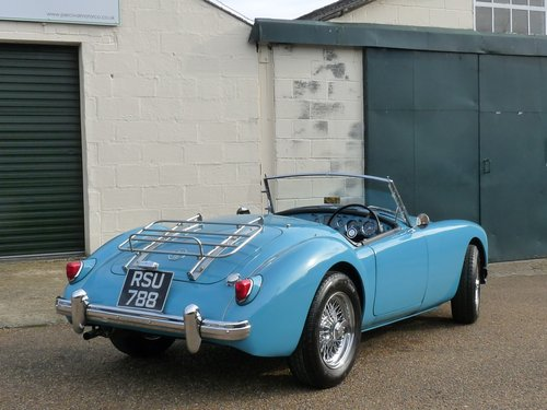 1956 MGA Roadster Mk1, MGB engine and  5 speed gearbox, SOLD SOLD (picture 6 of 6)