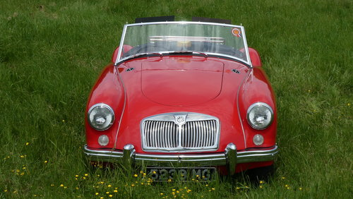 1957 MGA Roadster  SOLD (picture 2 of 6)