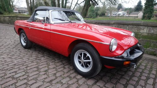MGB Roadster 1977 Flamenco Red 66,900 miles Complete Rebuild For Sale (picture 5 of 6)