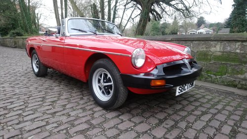 MGB Roadster 1977 Flamenco Red 66,900 miles Complete Rebuild For Sale (picture 6 of 6)
