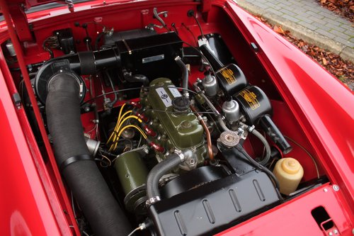 1963 MG Midget Mk1 - 1098cc - Tartan Red - Fully restored! SOLD (picture 5 of 6)