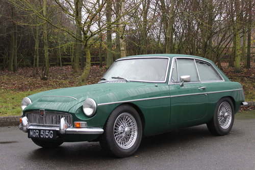 1969 MGC GT - 'MGR 515G' 'SOLD' MORE REQUIRED SOLD (picture 1 of 5)