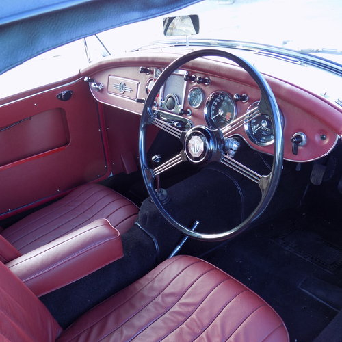 1962 MGA 1600 MK II Roadster  SOLD (picture 5 of 6)