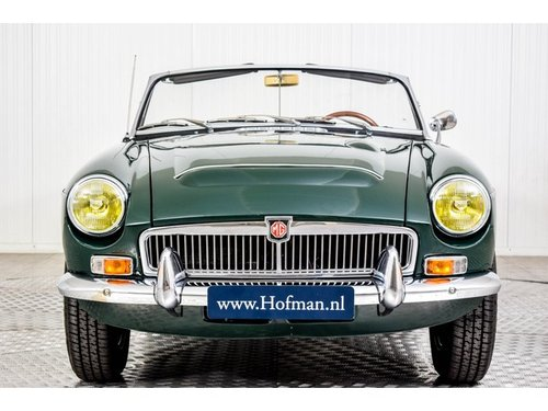 1969 MG C MGC Roadster 3000 Overdrive For Sale (picture 3 of 6)