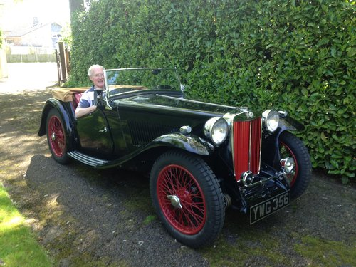 1936 MG TA SOLD (picture 1 of 6)