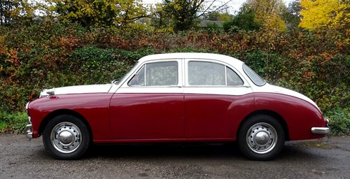 1958 MG MAGNETTE ZB TWO TONE PAINT TWIN CARBS SOLD (picture 2 of 6)