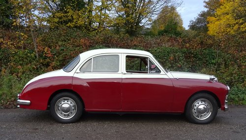 1958 MG MAGNETTE ZB TWO TONE PAINT TWIN CARBS SOLD (picture 4 of 6)