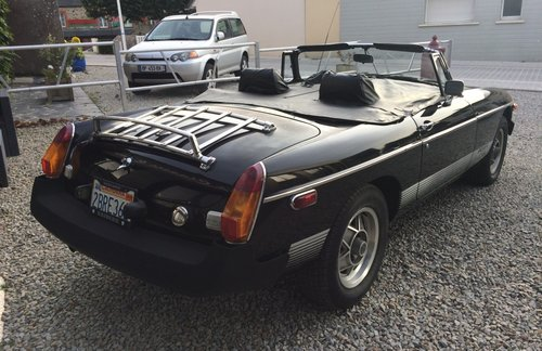 1980 MG B  For Sale (picture 4 of 5)