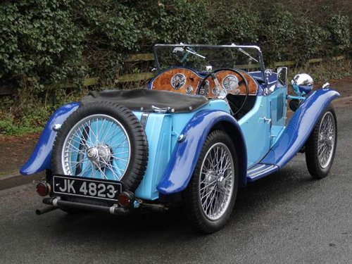 1935 MG PA in Oxford & Cambridge Blue - 8k since 90's rebuild For Sale (picture 3 of 6)
