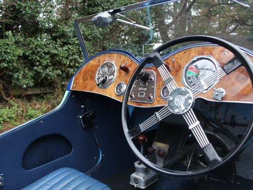 1935 MG PA in Oxford & Cambridge Blue - 8k since 90's rebuild For Sale (picture 4 of 6)