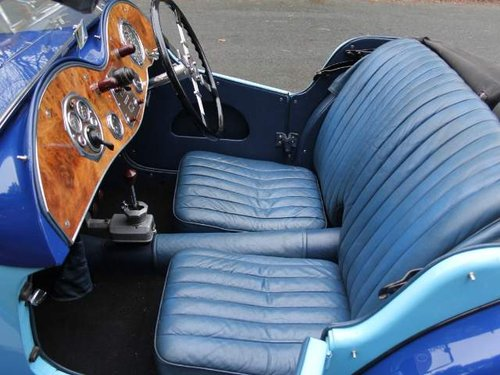 1935 MG PA in Oxford & Cambridge Blue - 8k since 90's rebuild For Sale (picture 5 of 6)