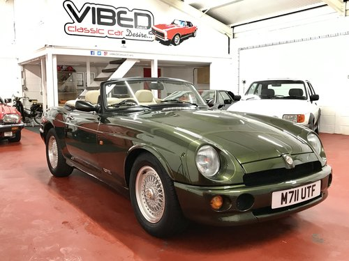 1995 MG RV8 / 15k Genuine Miles / SOLD SIMILAR REQUIRED For Sale (picture 1 of 6)