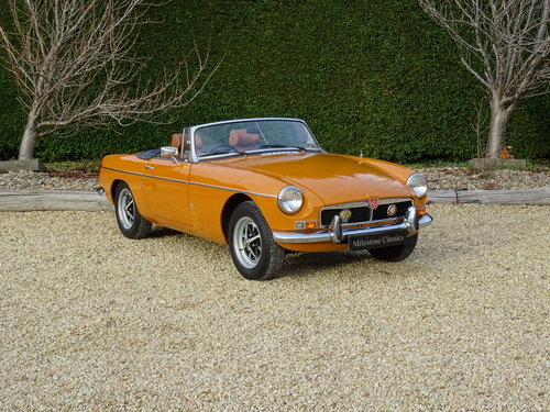 1974 MGB Roadster – One Owner/Utterly Original For Sale (picture 2 of 6)