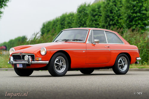 Nice MGB GT 1974 LHD For Sale (picture 1 of 6)