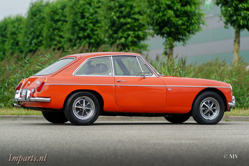 Nice MGB GT 1974 LHD For Sale (picture 3 of 6)