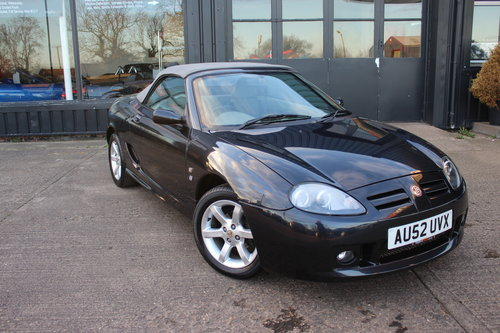 2002 MGTF 135, ALLOYS, NEW HEADGASKET, CAMBELT & WATERPUMP.  SOLD (picture 1 of 6)