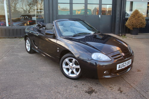 2002 MGTF 135, ALLOYS, NEW HEADGASKET, CAMBELT & WATERPUMP.  SOLD (picture 3 of 6)