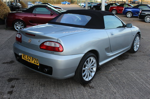 2002 MG TF 160, BLACK LEATHER, ALLOYS, NEW CAMBELT For Sale (picture 2 of 6)